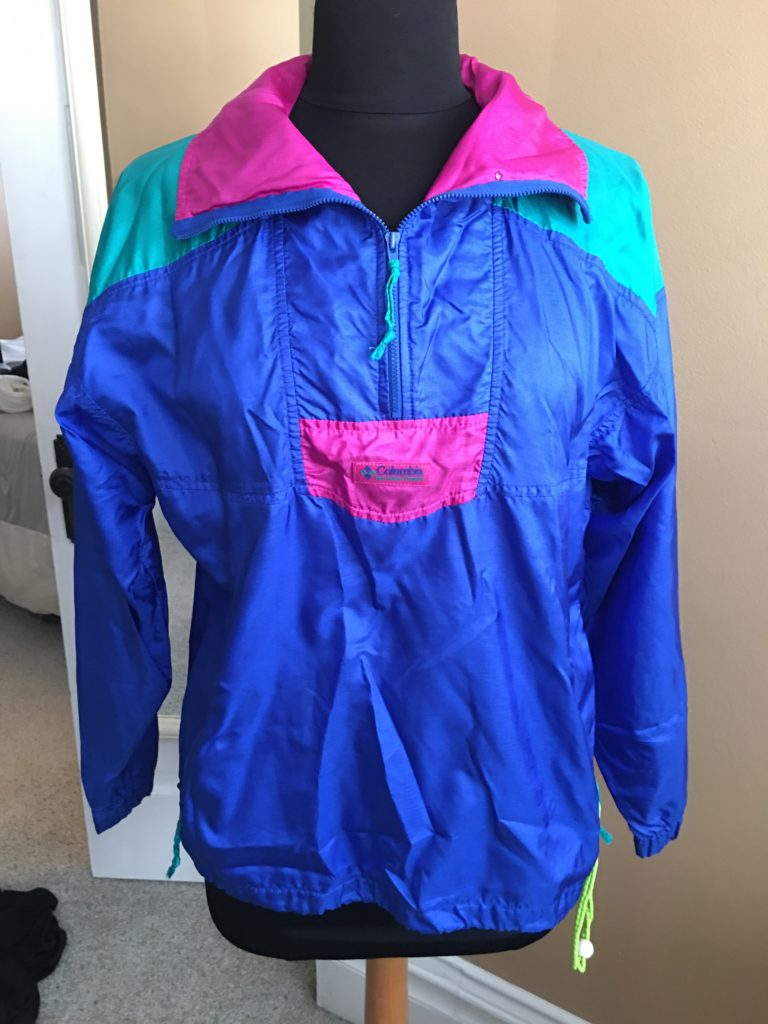 store, closet, for sale, clothes, cedar rapids, vintage, fun, columbia vintage jacket
